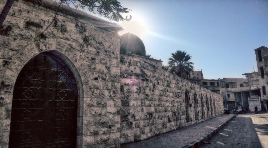 Ismaili Artist from Syria, Samer Yaghi: Prince Aly Khan Mausoleum in Salamiyah