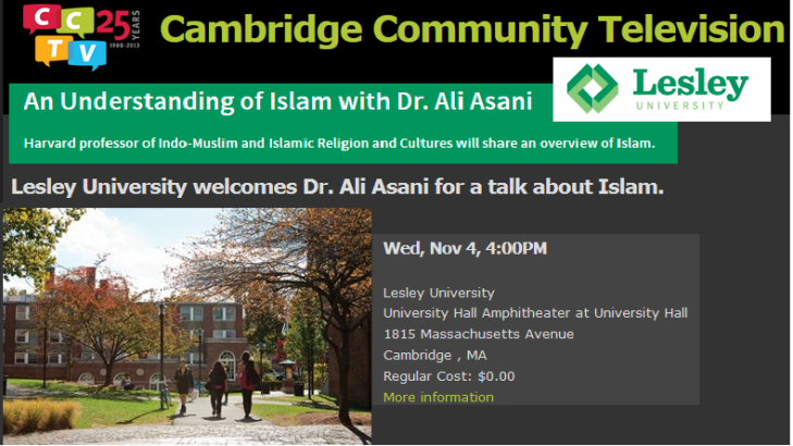 An Understanding of Islam with Dr. Ali Asani