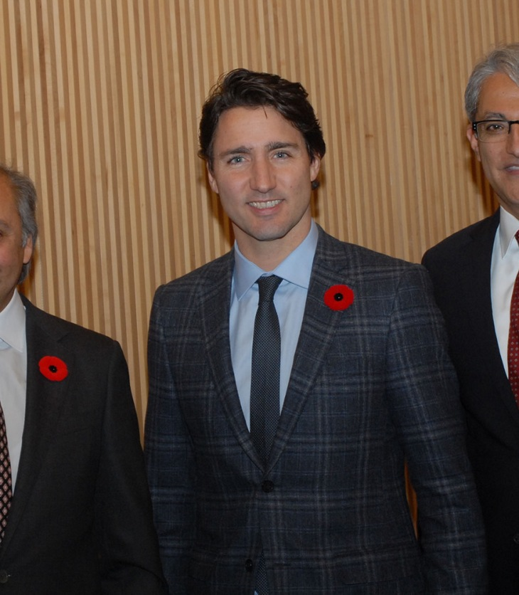 Prime Minister Justin Trudeau visits the Delegation of the Ismaili Imamat | The Ismaili