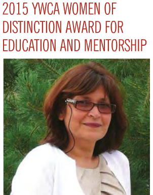 Dr.Fatima Pirbhai-Illich receives 2015 Regina YWCA Woman of Distinction Award