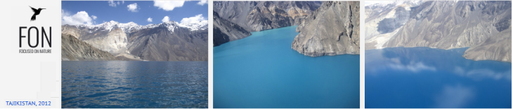 Lake Sarez, Tajikistan. Images from Prince Hussain's Focused on Nature Collection.