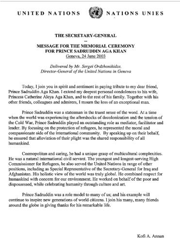 Prince Sadruddin Aga Khan (1933 – 2003). (Photo: Unesco Courier via Simerg)
