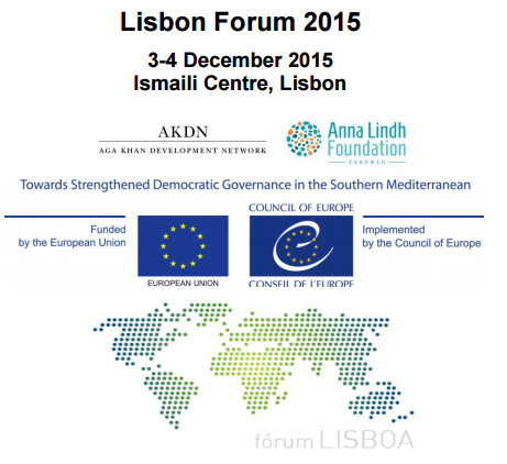 Ismaili Centre, Lisbon to host the Lisbon Forum 2015 on December 3-4