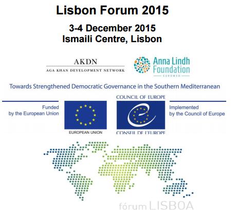 Lisbon Forum 2015 - IC Lisboa - AKDN