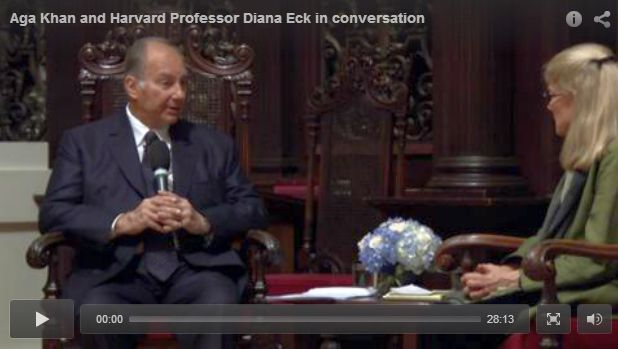 Video: Mawlana Hazar Imam in conversation at Harvard University
