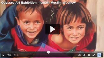 Video: Odyssey Art Exhibition - Ismaili Muslim art show
