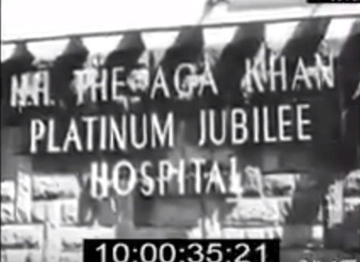 Kenya's Founding President Kenyatta Visiting 2-Day-Old Uhuru Kenyatta At Aga Khan Hospital