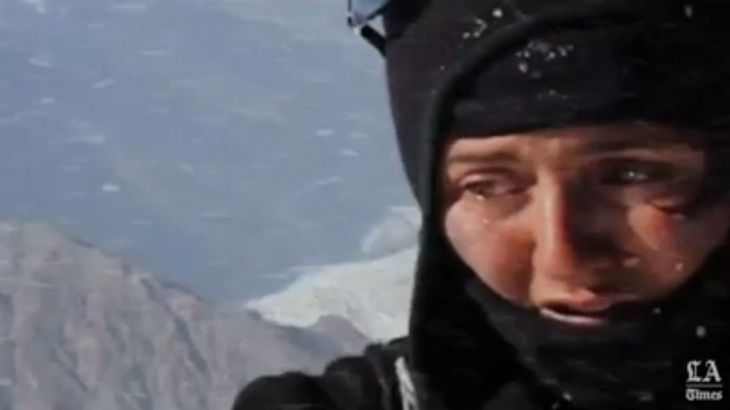 Los Angeles Times' Video Feature on Samina Baig & Mirza Ali reaching the summit of Mt. Everest