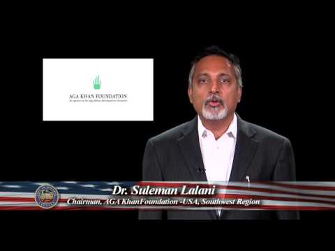 Dr. Sulaiman Lalani, Aga Khan Foundation USA, Southwest: Citizenship Month 2015