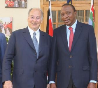 President Uhuru Kenyatta invites His Highness the Aga Khan to participate in Kenya's 52nd Independence Day celebrations
