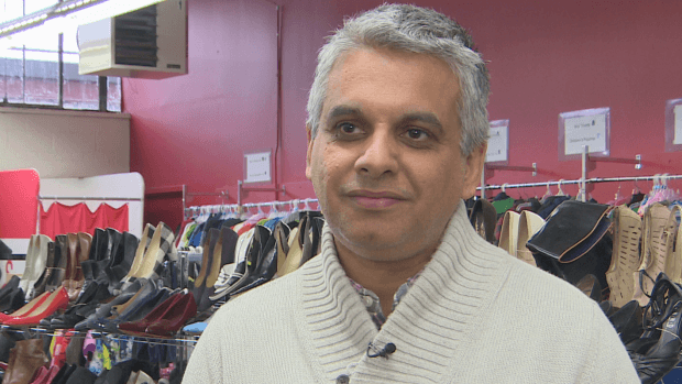 Alykhan Suleman: Syrian refugees offered help by Toronto's largest clothing bank