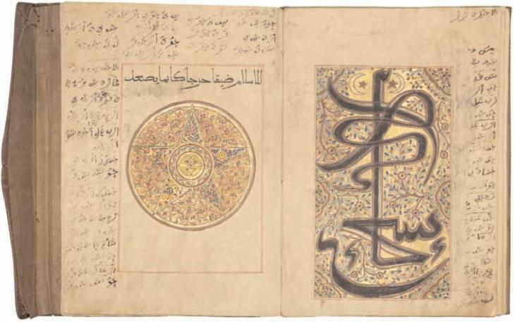 Calligraphic scripts were influenced by local artistic traditions