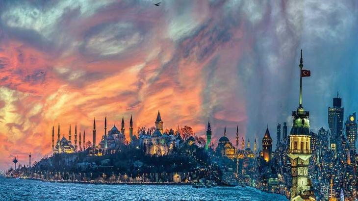 Images of Istanbul Then and Now