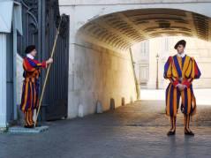Guards at the Vatican