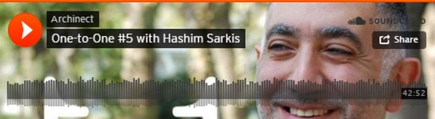 Hashim Sarkis, Dean of MIT's School of Architecture Planning, on Archinect Sessions One-to-One