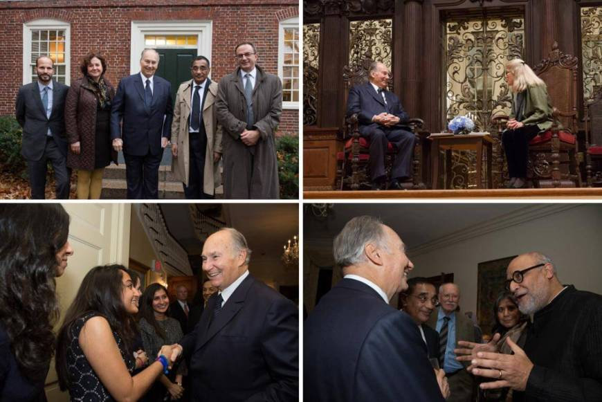 Photo Gallery: Fall 2015 Jodidi Lecture with His Highness the Aga Khan