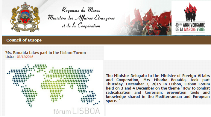Ismaili Centre, Lisbon hosts Lisbon Forum 2015: Perspectives from Morocco