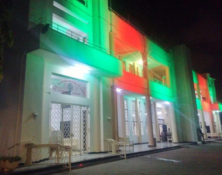 Makupa Jamatkhana lit up for Salgirah