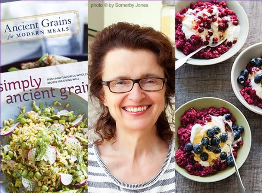 Award-winning cookbook author Maria Speck