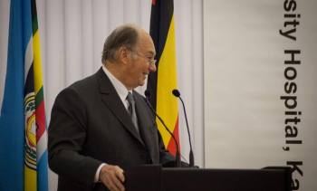 Remarks by His Highness the Aga Khan Regarding the Creation of the Aga Khan University Hospital in Kampala | AKDN