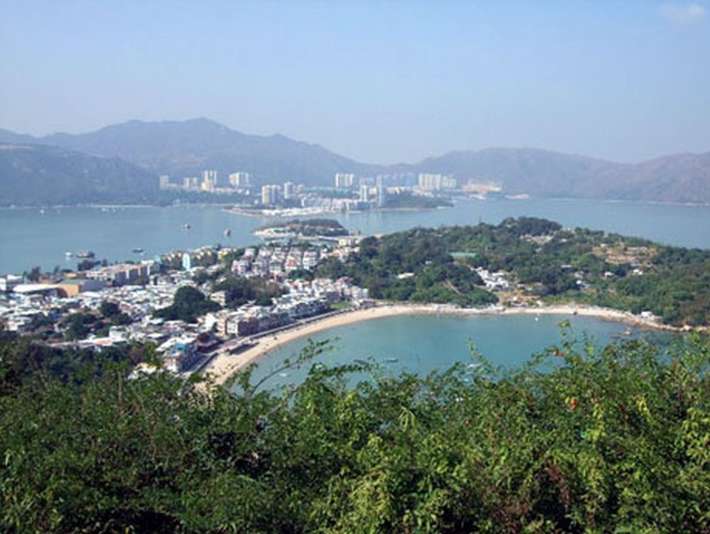 how to get to peng chau island