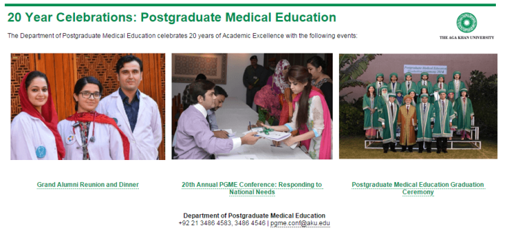 AKU Postgraduate Medical Education
