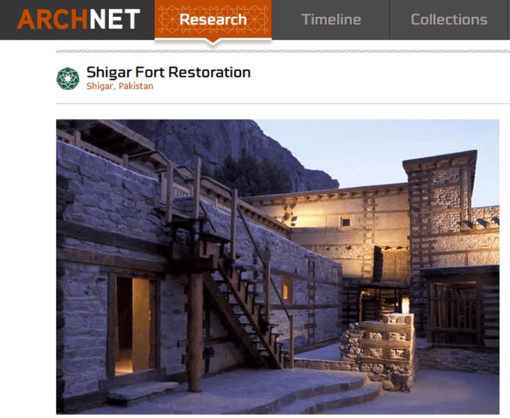ArchNet Research: Shigar Fort Restoration - Shigar, Pakistan