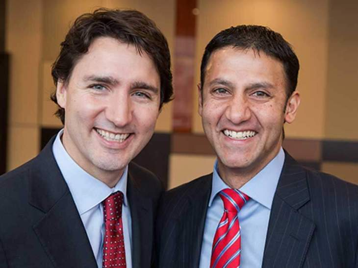 Trudeau names 35 new parliamentary secretaries - Arif Virani, parliamentary secretary to the Minister of Immigration, Refugees and Citizenship