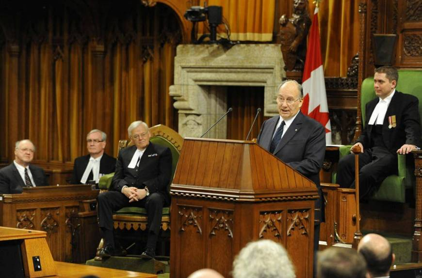 Address of His Highness the Aga Khan to both Houses of the Parliament of Canada in the House of Commons Chamber, Ottawa 27 February 2014