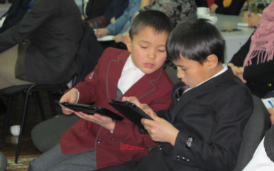 Kyrgyzstan: Aga Khan Foundation, USAID launch interactive mobile apps for children   AKIpress