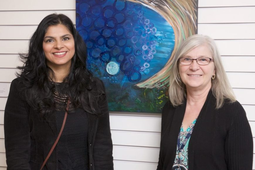 Taslim Samji's interview with CBC News: Ismaili Muslim women's art exhibit celebrates diversity