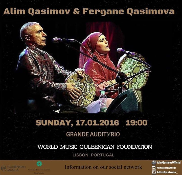 Aga Khan Music Initiative: Qasimovas perform at World Music in Lisbon Portugal