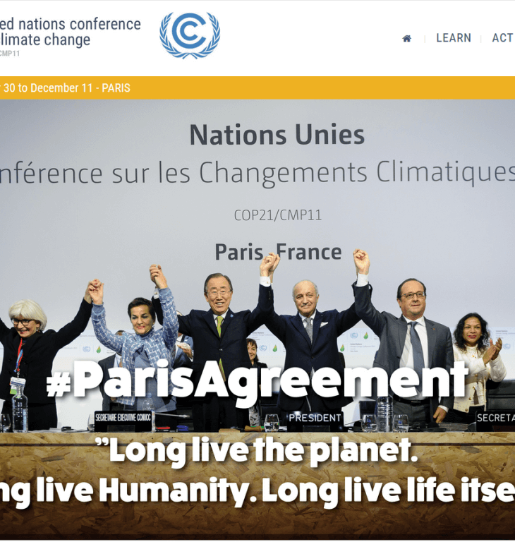 """AKU at """"Summit of Conscience for the Climate,"""" precursor to UN's Convention on Climate Change (COP21)"""