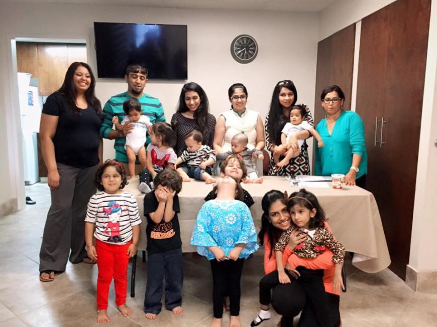 Certificates awarded at Early Childhood Development Centre, San Diego Jamatkhana, California