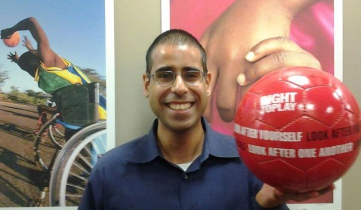Q&A with Fayaz Manji, a manager with Right to Play | Bmeaningful