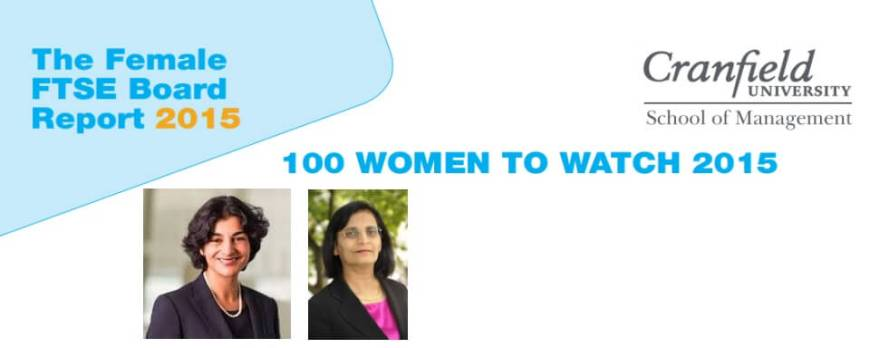 Tazim Essani, Yasmin Jetha, listed in '100 Women to Watch 2015'