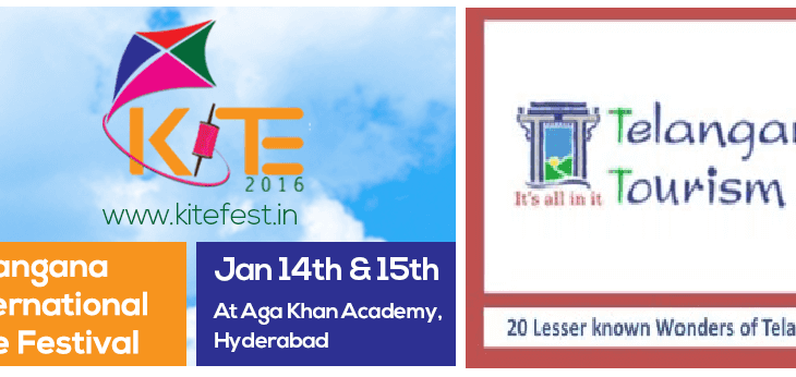 KITE 2016 - The First Telangana International Kite Festival underway at the Aga Khan Academy, Hyderabad