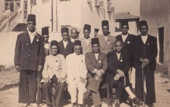 A group of Iranian Ismailis who attended the Golden Jubilee of Imam Sultan Mahomed Shah in 1936. (Photo: The Ismailis: An Illustrated History)