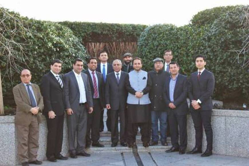 Gilgit-Baltistan's Chief Minister, Hafiz Hafeez Ur Rehman visits Ismaili Center London | Passu Times
