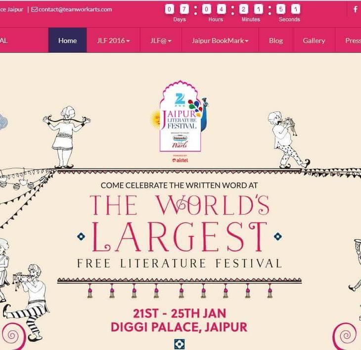 Aga Khan Foundation Supports Jaipur Literature Festival 2016