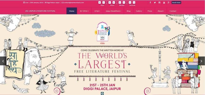 Aga Khan Foundation Supports Jaipur Literature Festival 2016