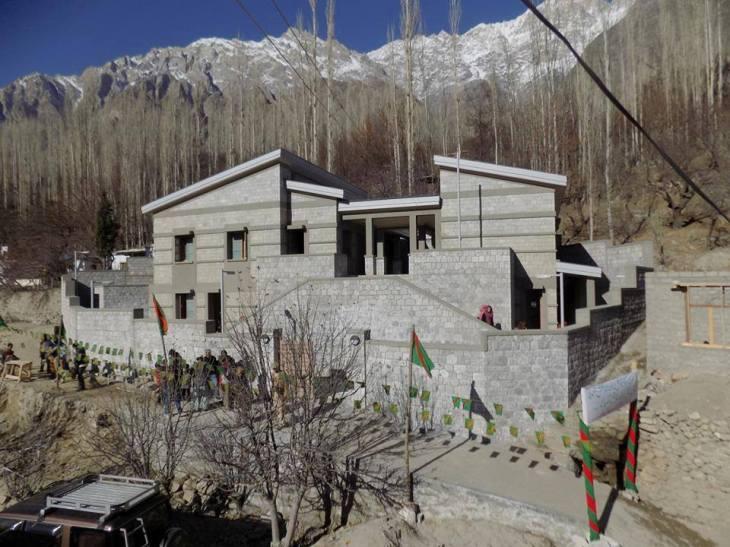 Jamatkhana in Chaboikushal, Ganish, Hunza, Gilgit-Baltistan, Pakistan
