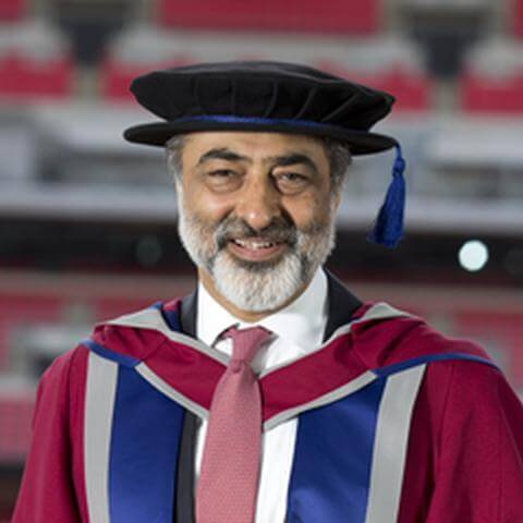 Majid Mangalji awarded Doctor of Letters