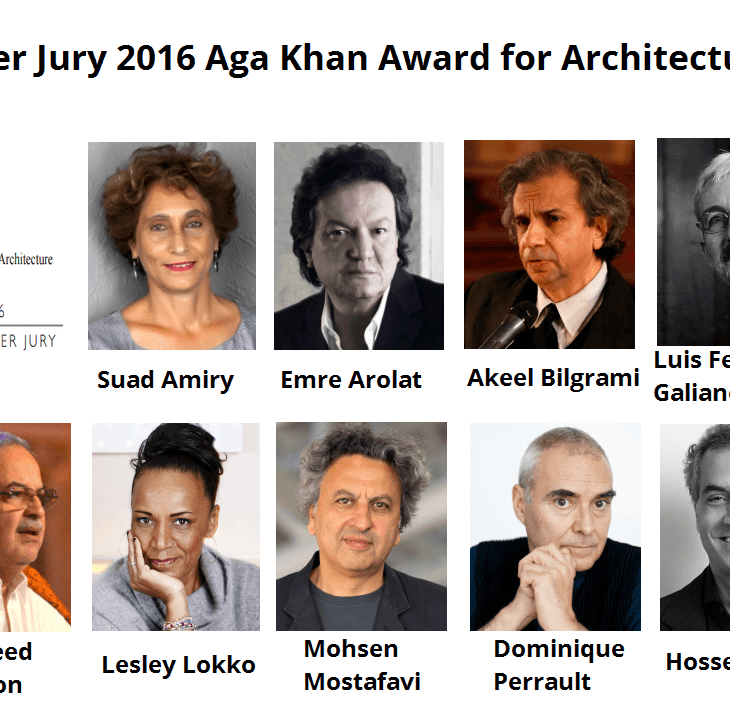 Aga Khan Award for Architecture announces Master Jury for 2014-2016 Award Cycle