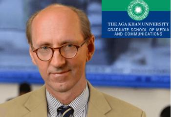Michael Meyer, Dean of the Graduate School of Media and Communications at Aga Khan University in Nairobi. (image credit: AKU-GSMC)