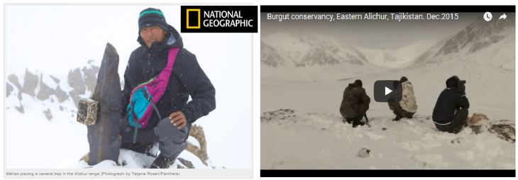 National Geographic focus on the Pamirs: The future of wildlife is in our hands