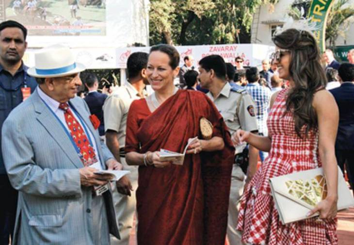 Princess Zahra Aga Khan at the 36th Asian Racing Conference, India