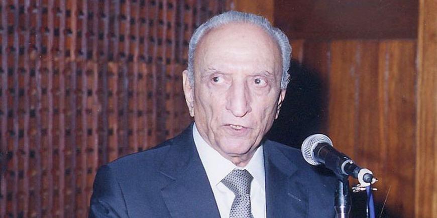 Sahabzada Yaqub Khan, 1920-2016 (Image credit: AKU)