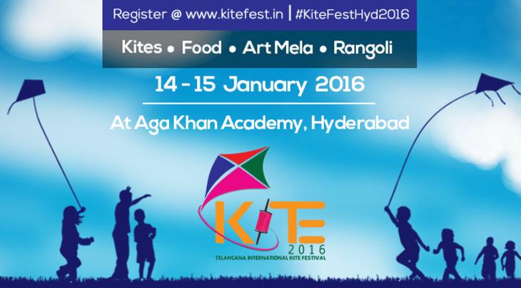 Telangana International Kite Festival 2016 to be hosted by Aga Khan Academy, Hyderabad (India)