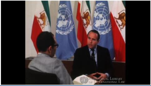 Interview with Prince Sadruddin Aga Khan, United Nations High Commissioner for Refugee, April 1968